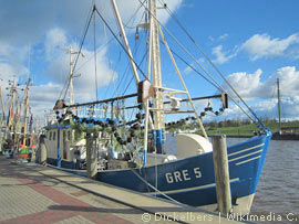 Hafen in Greetsiel